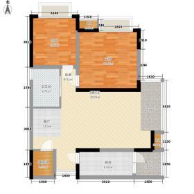 罗浮世家二期90.00㎡罗浮世家二期户型图户型图2室2厅1卫1厨户型2室2厅1卫1厨