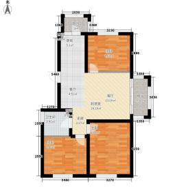 海富山水文园72.19㎡海富山水文园户型图二期(三)区多层户型3室1厅1卫1厨户型3室1厅1卫1厨