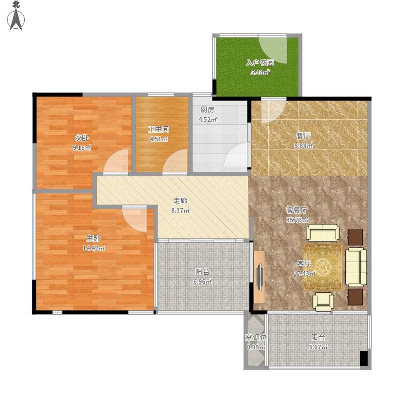 琼山-衍宏万国99中央区-设计方案户型图大全,装修图