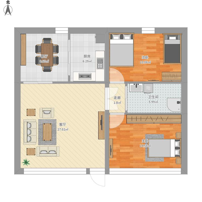 新房平面设计图图片