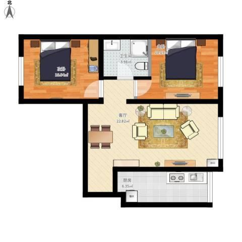 泛华小区两室两厅