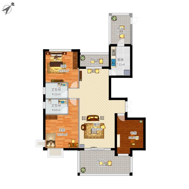萧山-顺发99旺角城-设计方案户型图大全