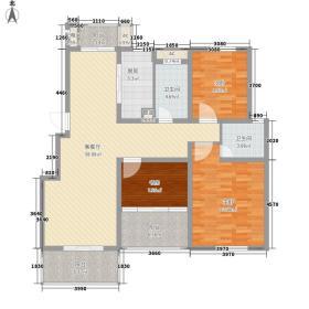 名都豪庭120.60㎡名都豪庭户型图3#楼标准层03室3室2厅2卫1厨户型3室2厅2卫1厨