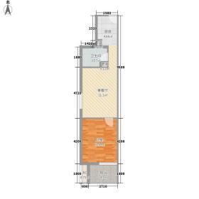 万豪中心国际公寓万豪中心国际公寓户型10室