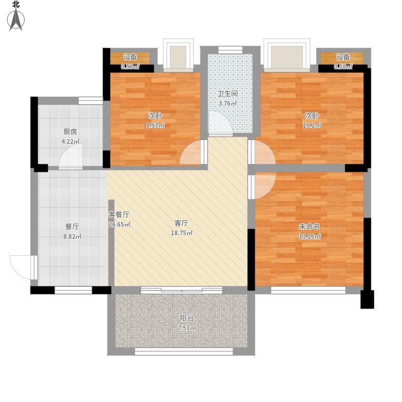 武汉-清江山水-设计方案户型图大全,装修户型图,户型