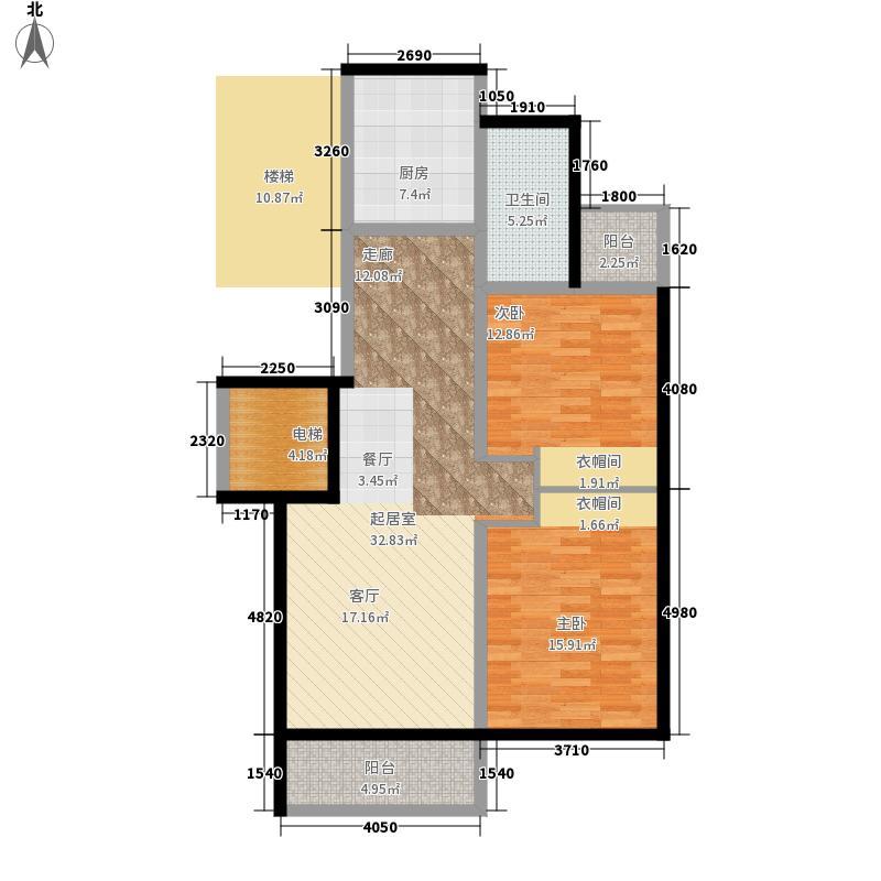 00㎡户型2室2厅1卫1厨  山东 威海 竹岛山海苑 建筑面积:8平方米 &#58