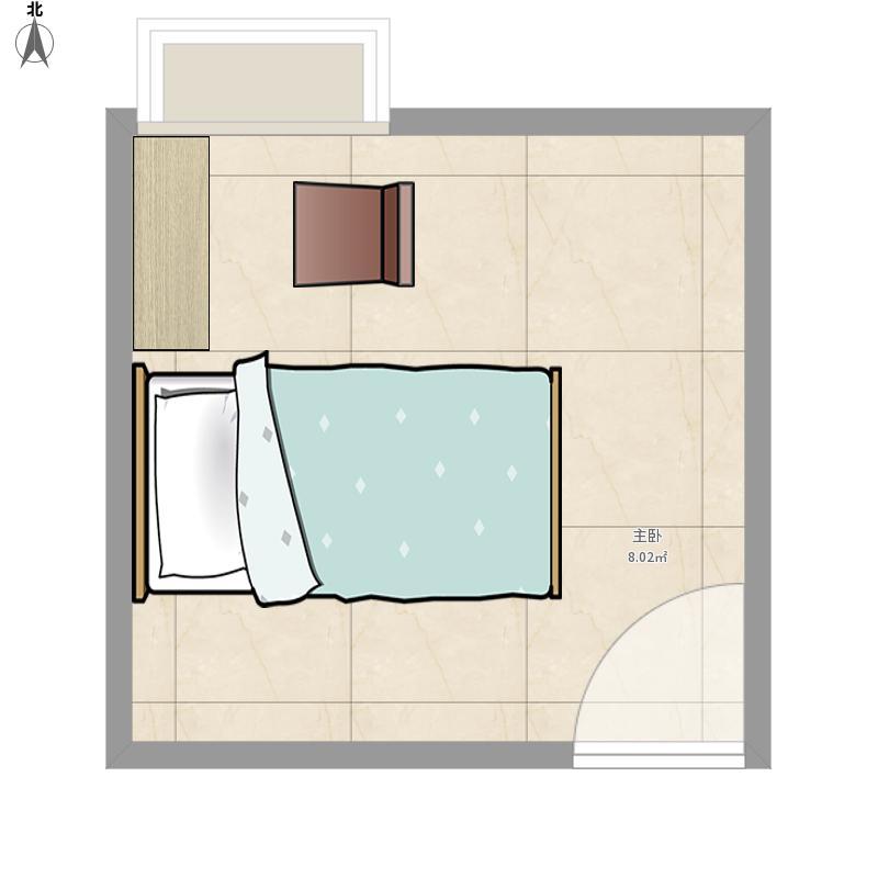 三个卧室布局图-卧室风水布局禁忌-卧室布局设计图-图