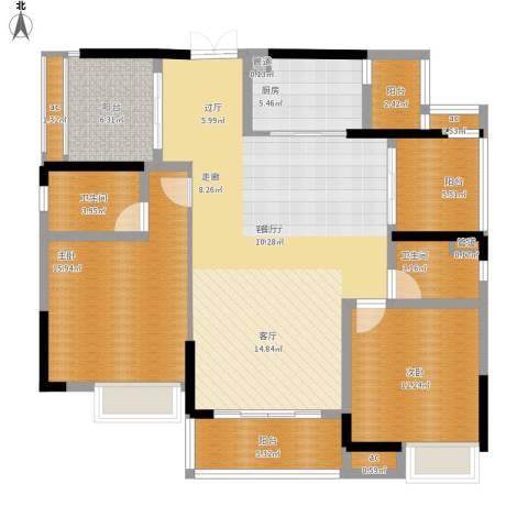 惠州方直.星耀国际C户型128平米二室二厅
