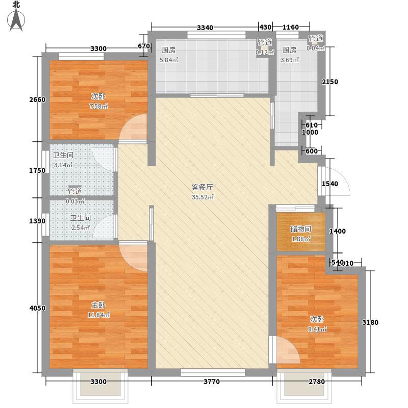 天津塔楼户型图