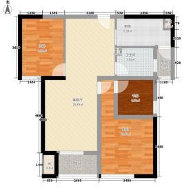 莱蒙城公寓96.00㎡莱蒙城公寓户型图莱蒙城(公寓)2室户型图2室2厅1卫1厨户型2室2厅1卫1厨
