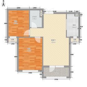 嘉里・海楹台88.00㎡C-3b户型
