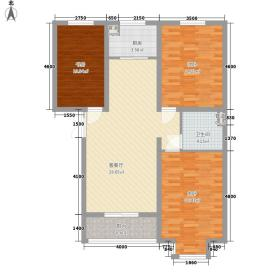 金舍博贤院125.80㎡3室2厅1卫