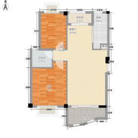 安博南方花园87.01㎡安博南方花园户型图A户型2室2厅户型2室2厅