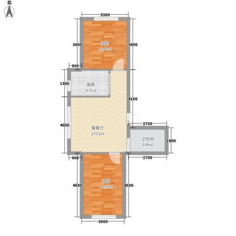 隆泰碧水山城37号楼标准层F户型