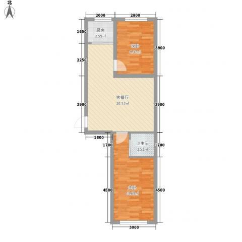 隆泰碧水山城37号楼标准层H户型