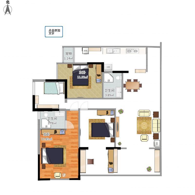 攀枝花-攀枝花海德堡1380-v方案方案楼盘曲线20ec风水绘制图片