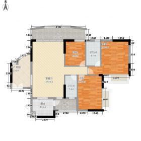 小城之春128.67㎡2栋03单位2面积12867m户型