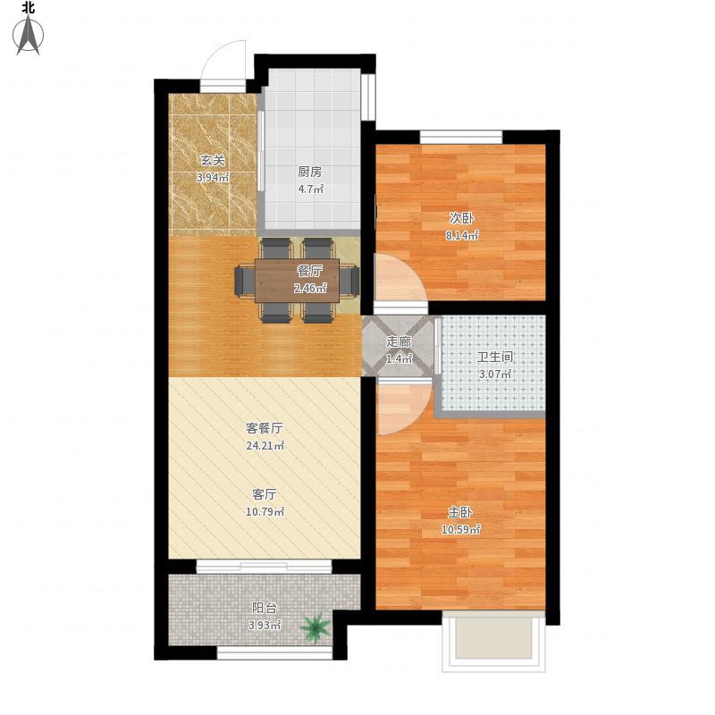 山东省 青岛市 胶南市 胶南-天一畔城-设计方案 户型图
