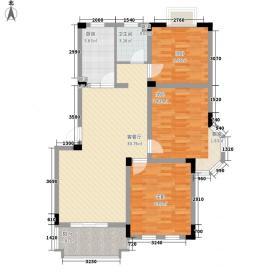 世纪风情101.07㎡D5户型(三期)户型3室2厅1卫1厨