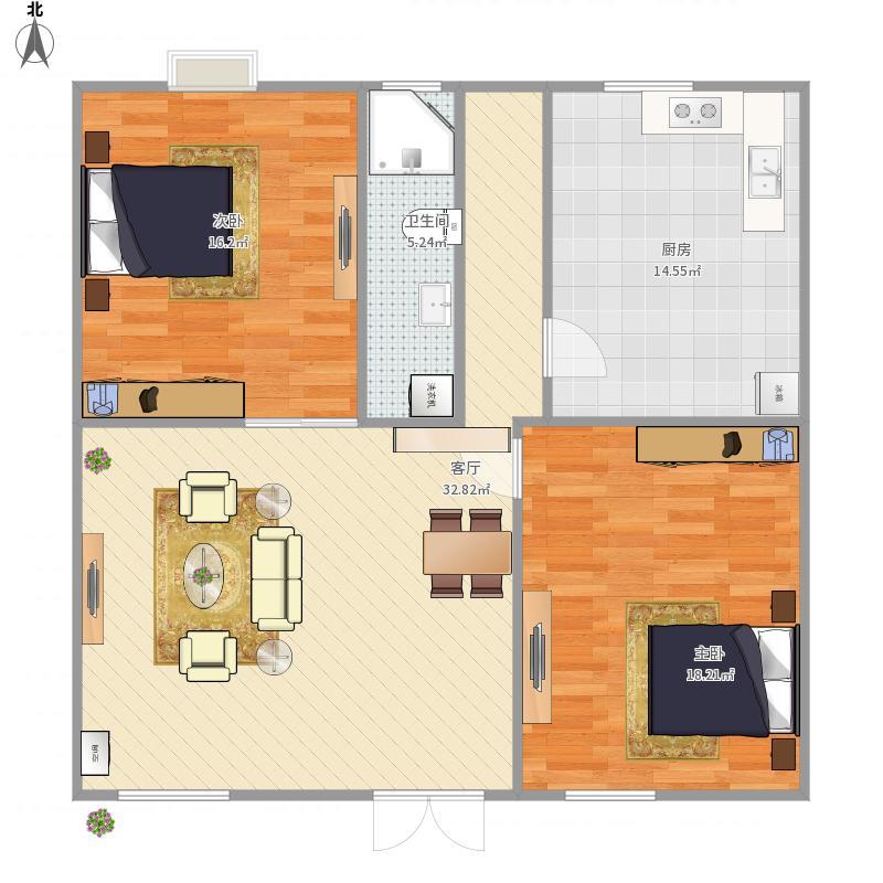杭州 农村房屋 户型图