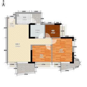 海语西湾87.01㎡海语西湾户型图户型图3室2厅1卫户型3室2厅1卫