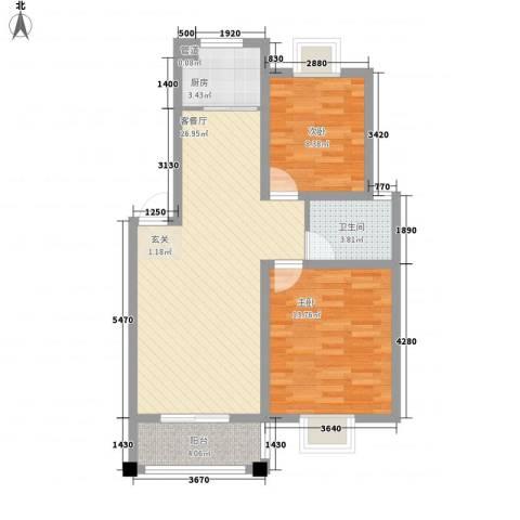 树人花园1#-2#楼4-9#中间边户12-22#楼中间C户型