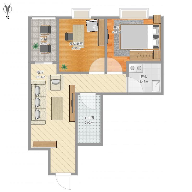 武汉-华生楼盘房屋-设计广场城市风水分析,武汉东北二层方案设计图图片