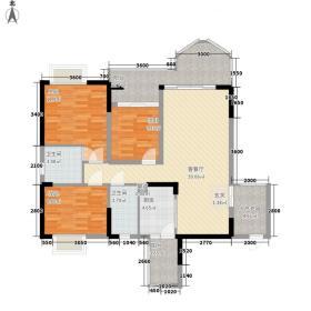佛罗伦斯・柏悦湾户型3室2厅2卫1厨