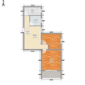真情公寓三期85.90㎡真情公寓三期85.90㎡2室1厅1卫1厨户型2室1厅1卫1厨