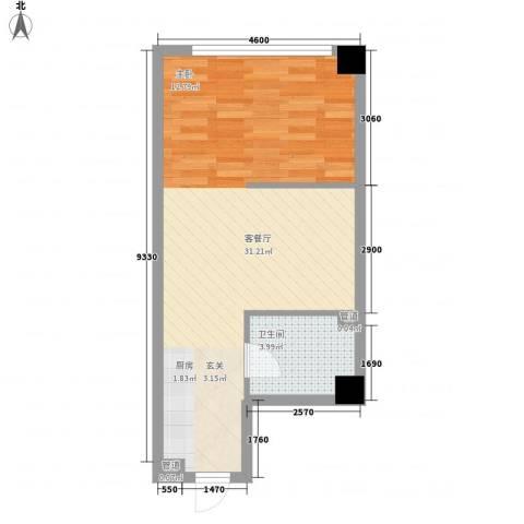 财富湾精品公寓标准层A2户型