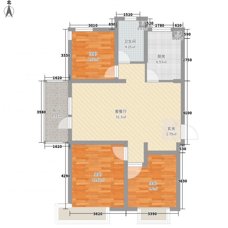 户型设计 海信花伴里  山东 青岛 海信花伴里 套内面积:79.