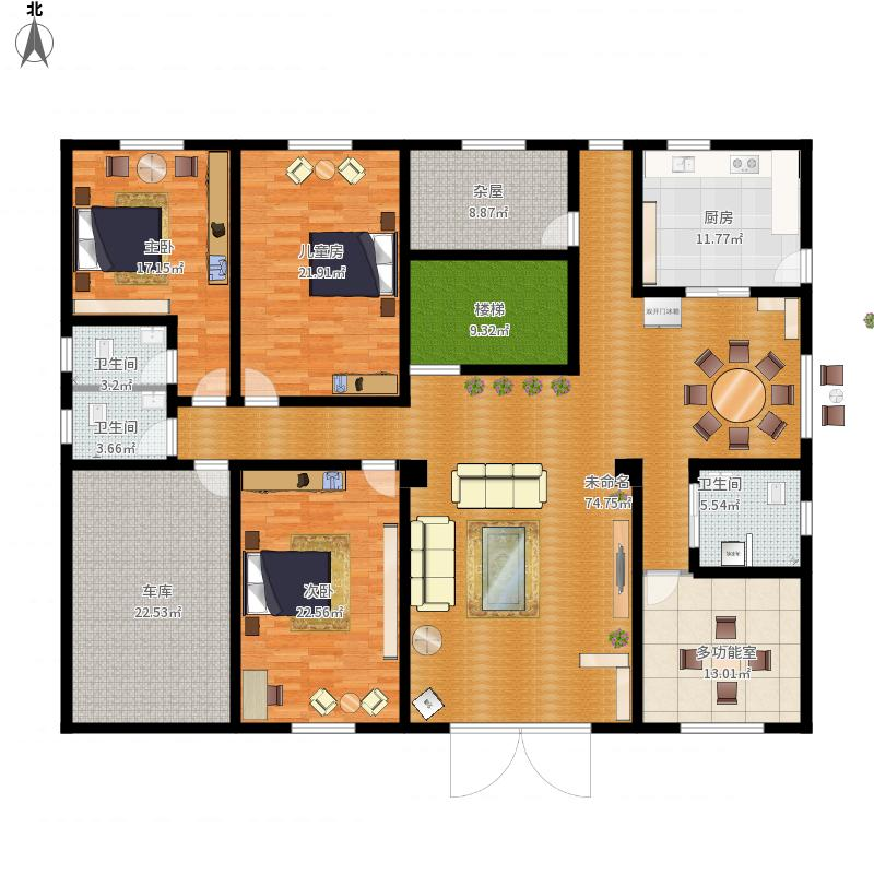 农村建房 1楼 平面图 最终定型版 副本 户型 图大