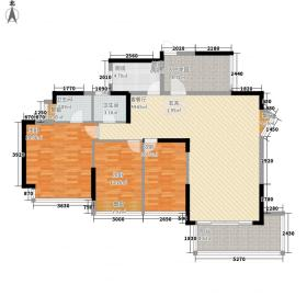 熙龙小镇132.80㎡6栋2单元0户型3室2厅2卫