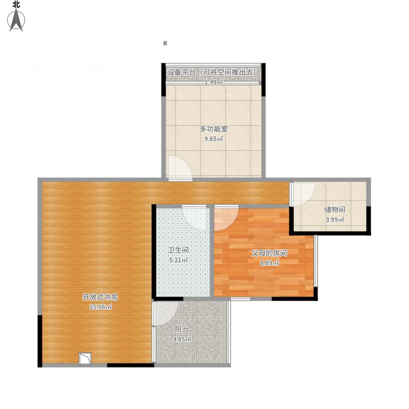船山-欧洲新城-设计方案——m2户型