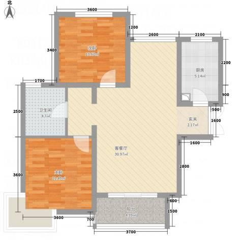 滨湖世纪城振徽苑1217397518302_000户型2室2厅1卫1厨-副本