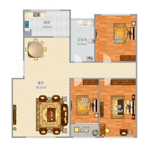 信阳_军港世家-3室-136㎡_2015-11-14-1128