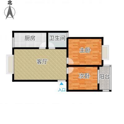 锦绣东城74.62㎡户型10室