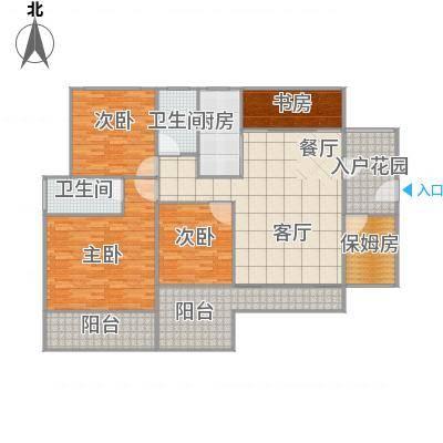 广州_天寿大厦167方户型图_2015-12-18-1907