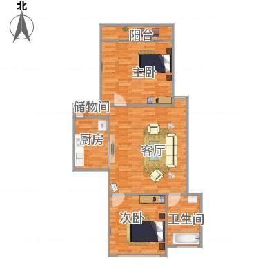 上海_上浦路小区201弄61号402_2015-12-18-1939