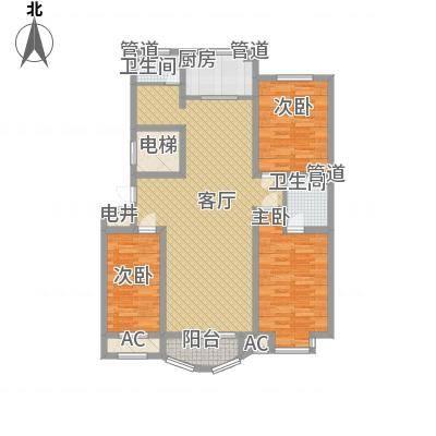 海景怡园140.73㎡海景怡园户型图海之尊贵3室2厅2卫1厨户型3室2厅2卫1厨-副本