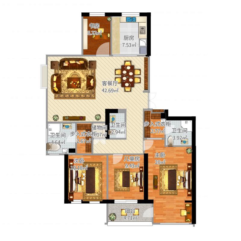 小区住宅风水图解