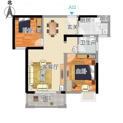 康星顿单身公寓户型-副本