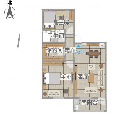 乐平-叶长江陈燕婚房平面布置图02