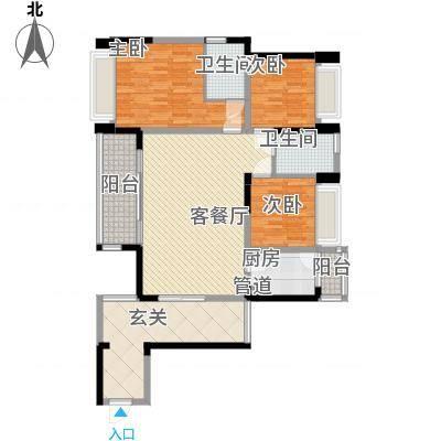 博罗区中港城3栋02户型