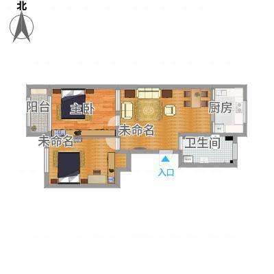 馨安苑二室一厅一厨一卫
