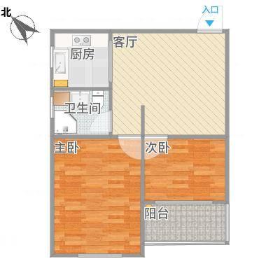 上海_党校家属小区实际尺寸图_修改户型