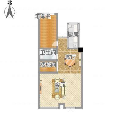 陈宅 80平方 两室两厅
