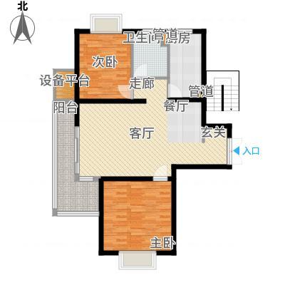 祥和星宇花园90.00㎡祥和星宇花园户型图90平米户型图2室2厅1卫1厨户型2室2厅1卫1厨-副本