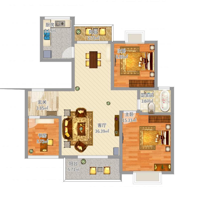 室内设计i 户型图