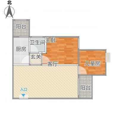 香山美地5栋。C户型